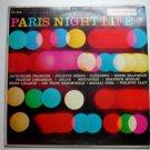 Paris Night Life lp by Various