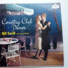 Country Club Dance lp by Bill Savill
