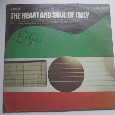 The Heart and Soul of Italy lp by Living Guitars
