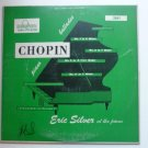 Chopin Piano Ballades lp by Eric Silver at the Piano