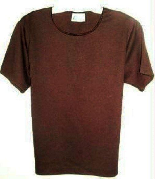Kathie Lee Short Sleeve Top Ladies Sz Medium Color: Brown ~ Brand New ~