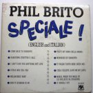 Speciale by Phil Brito - Rare LP