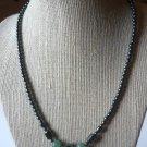 Hematite and Aventurine 18 inch Necklace - New -