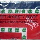 Avon Sweet Honesty Scarf - Vintage - NIP - 21 x 21