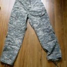 Army Combat Uniform Trousers Green Digital Camouflage Med Reg Insect Repellent