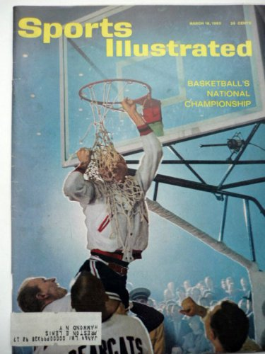 Sports Illustrated March 18 1963 Basketballs Championship