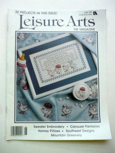 Leisure Arts Magazine June 1990
