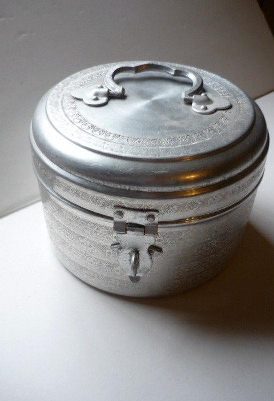Shah Devchand and Co What Not Lockable Etched Container SD & Co