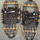 Vintage Wooden Snow Shoes Ice Grips 13x28 Usable or Great Decor