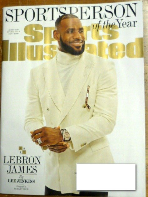 Sports Illustrated December 19 2016 Lebron James on Cover