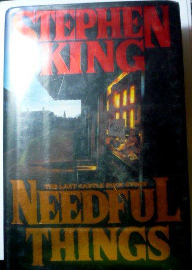 Needful Things - Hardcopy by Stephen King 0670839531