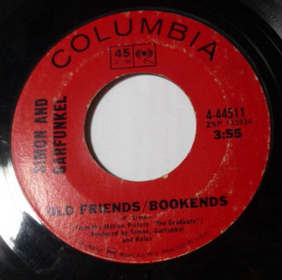 Mrs Robinson / Old Friends Bookends 7 in 45 by Simon / Garfunkel