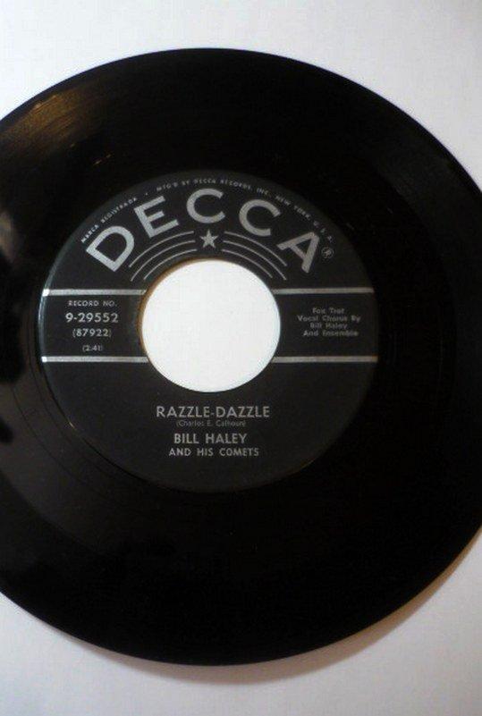 Bill Haley Razzle Dazzle b/w Two Hound Dogs 9 29552 7 in 45rpm