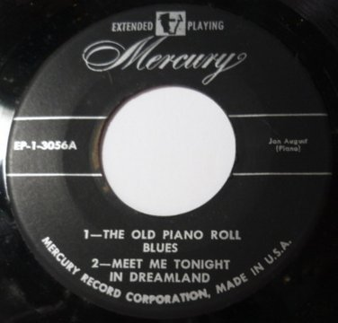 The Old Piano Roll / Meet Me Tonight 45 ep Jay August