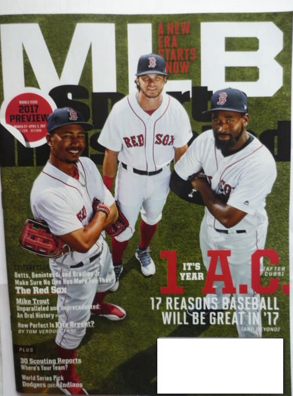 Sports Illustrated March 27 - Apr 3 2017 March MLB Double Issue
