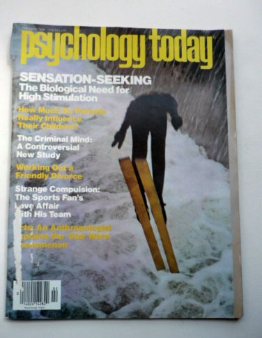 Psychology Today Magazine February 1978