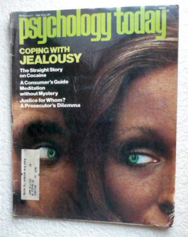 Psychology Today Magazine March 1977