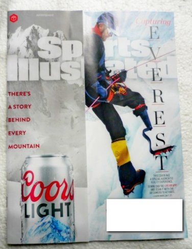 Sports Illustrated Magazine May 8 2017 Mount Everest Cover