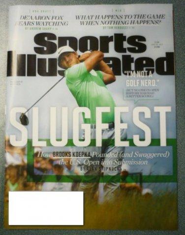 Sports Illustrated Magazine June 26 2017 Brooks Koepka Cover