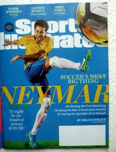 Sports Illustrated August 7 2017 NO LABEL Neymar Cover