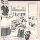 All About Your New General Electric Refrigerator 1940s Original Manual with Recipes Vintage Book