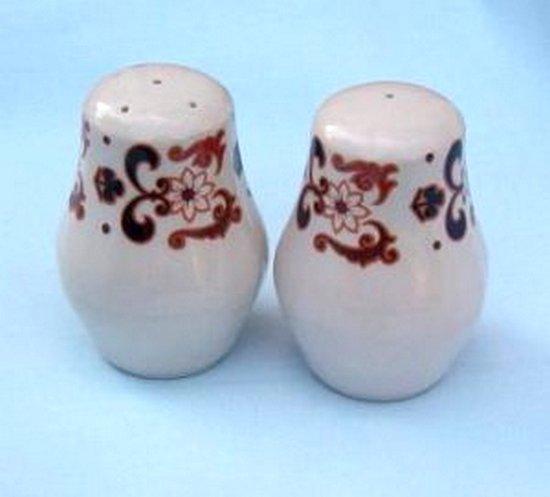 Staffordshire Salt and Pepper Shakers Fine Ceramics of England Modern 1970s