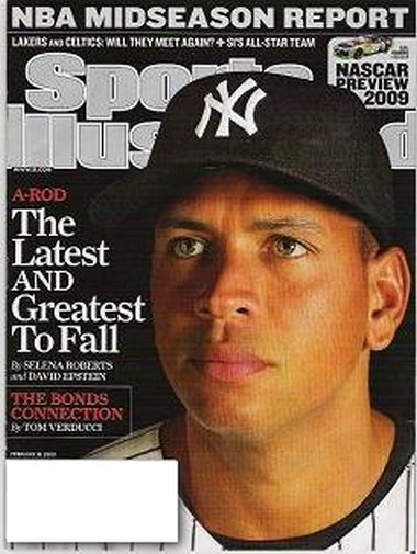 Sports Illustrated February 16 2009 A-Rod Coverage Nascar Preview 2009