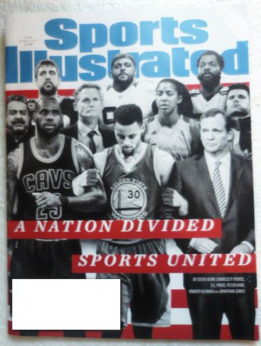 Sports Illustrated October 2 2017 A Nation Divided Sports United Cover