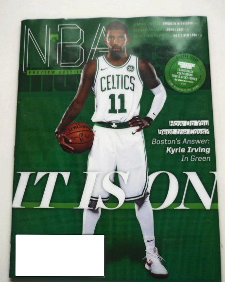 Sports Illustrated Mag October 16-23 2017 Kyrie Irving Cover Kyrie Irving Cover