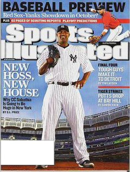 Sports Illustrated Magazine Yanks Red Sox Scouting Reports April 6 2009