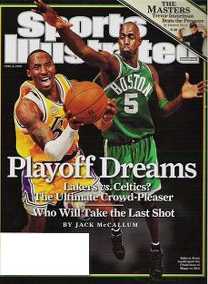 Sports Illustrated Lakers vs Celtics Top in Womans Hoops - April 21 2008