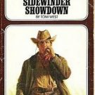 Crossfire at Barbed M and Sidewinder Showdown - Tom West - Ace Double Western Book