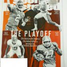 Sports Illustrated Magazine Dec 25 2017 Playoff Cover