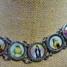 Religious Bracelet : Jesus Mary Cross Saint