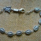 Miraculous Medal Silver Plated Bracelet by Ghirelli - 2003