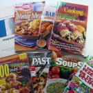 Eight Cook Book Lot : American Cooking Guild, Bhg, B Crocker, Weber, Frenchs, Pasta ++