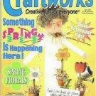 Craftworks Spring Magazine April 1997 Cross Stitch, Crafts, Bridal, Patterns