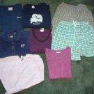 Large Lot Girls Sz 10/12-xl Name Brand Clothing - Shorts, Tops, Pants, Vest Gr8 Cond