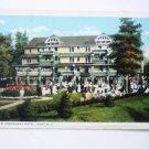 Antique New Arrowhead Hotel - Postcard - Adirondacks Mts Inlet NY