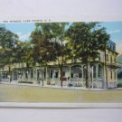 Worden Street Lake George New York Antique Postcard