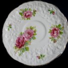 POPE GOSSER Rose Point Saucer - Vintage