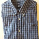 Long Sleeve Blue Plaid Shirt Mens Plus Size 4x Long Sleeve Basic Editions