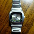 UNLISTED Mens Watch UL 8002 Stainless Vintage Rare - Needs Battery - Unworn