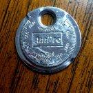 Vintage Ampro Spark Plug Gap Opener Tool Keyring Fob
