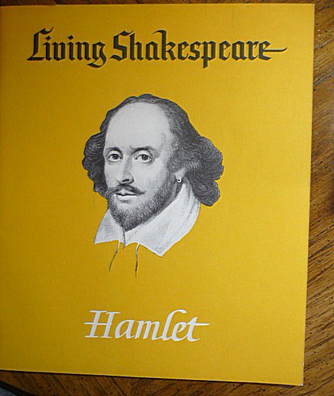 Living Shakespeare Hamlet Book