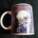 Gibson John Deere Coffee Mug Cup 1899 Deere & Company Elk in field Licensed