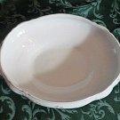 Maddocks Works Lamberton Royal Porcelain 11 1/2 inch Long Oblong Serving Bowl