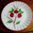 Blue Ridge Southern Potteries Cherry Dinner Plate 9 3/8 Inch