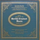 Basic Library Of The World's Greatest Music Album No. 3