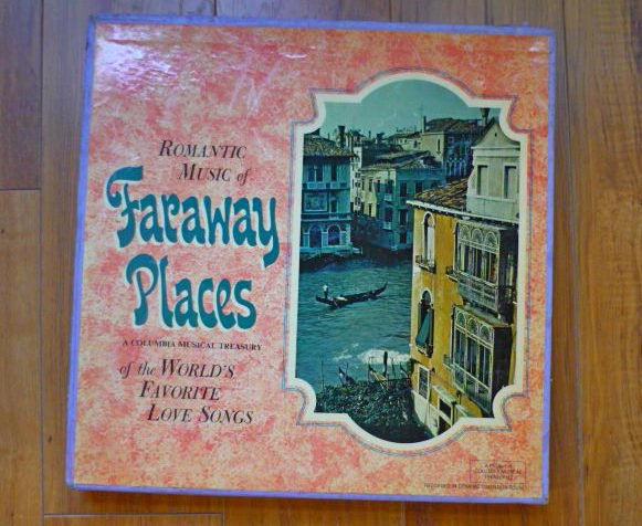 Romantic Music of Faraway Places LPs
